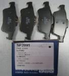 задние колодки Sp2091