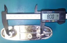 посадочный размер замка кунга L200
