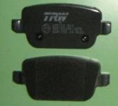 задние колодки форд мондео 4 GDB1732